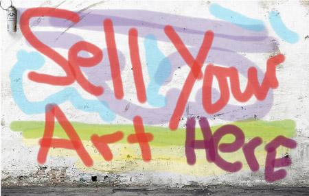 هنر خود را بفروشید