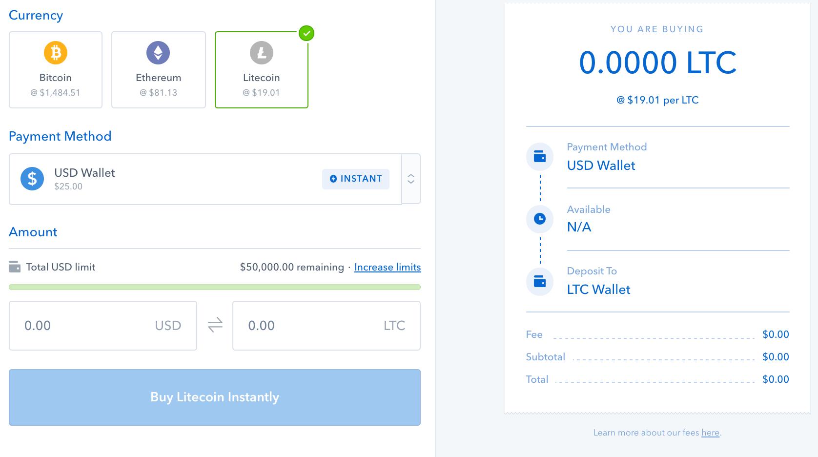 اضافه شدن لایت کوین به Coinbase